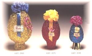 Art. 080 - 075 - 070 - Uova pasquali cioccolato