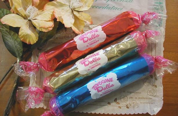 Art. 874 salamino torrone friabile ricoperto cioccolato gr.300