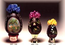 uovo cioccolato decorato  Art.145(gr.3500) -140(gr.1800) -135(gr.900)