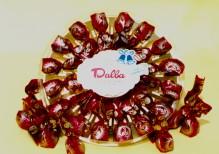 Art.318 Boeri cioccolatini fondenti con ciliegia TONDA gr.160