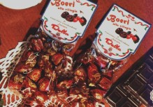 Art.329 Boeri Cioccolatini fondenti con ciliegia Sacchetto gr.200