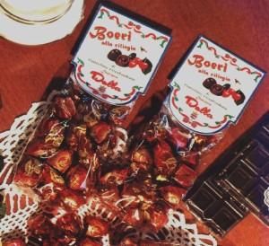 Art.329 Boeri Cioccolatini fondenti con ciliegia dolciaria dalba