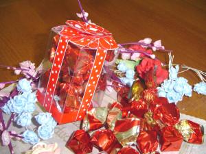 Boero Cioccolatino con ciliegia cioccolato fondente SCATOLA CUBICA dalba dolciaria