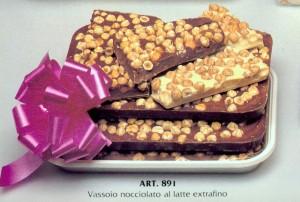 a.891 cioccolato NOCCIOLATO DALBA DOLCIARIA