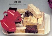 Art. 895 vassoio torrone assortito kg.3