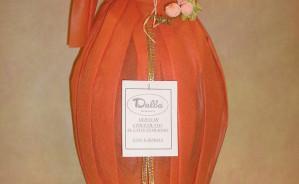 art.071uovo cioccolato incarto tnt + fiore