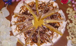 Art.1000 Torta di Torrone ten. kg.2,2     Tiramisu'