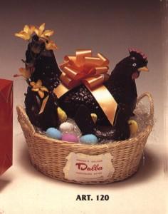 GALLINA cioccolato dalba