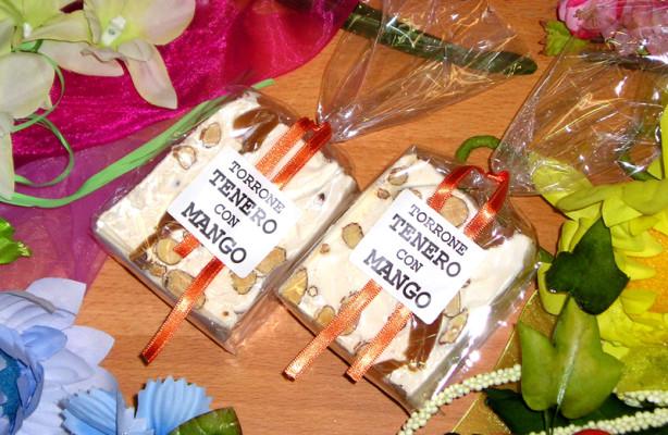 Art. 902  Cubetto gr.200 torrone tenero mandorla  – mango