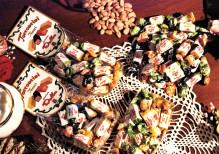 Art. 877 sacchetto torroncini fiocco assortiti gr.200