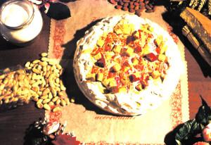 Art.1011 Torta di Torrone Ten. kg.2,2 Zuppa Inglese dolciaria dalba natale