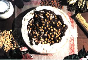 Art. 1013 Torta di torrone ten. kg.2,2 nocciolata dolciaria dalba