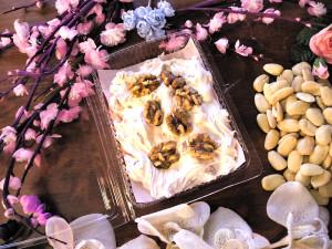 Art.965 Trancio noci torronata ten.gr.250 vaschetta natale dalba