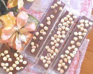 cioccolato nocciolato barre
