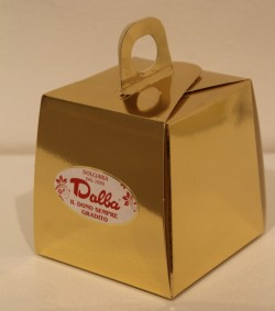 Panettoncino gr.100 scatola dalba