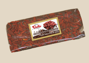 Cioccolato Fondente con Bacche di Goji Dalba