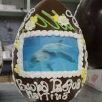 uovo+cioccolato+ decorato+ dalba+pasqua+12