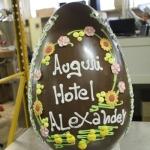 uovo+cioccolato+ decorato+ dalba+pasqua 8