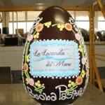 uovo+cioccolato+ decorato+ dalba+pasqua 9