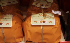 panettone marrons glaces pacco
