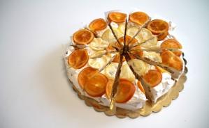 torta torrone arancio e limone da kg. 2,2