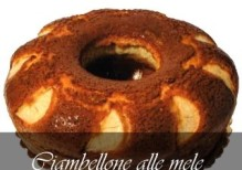 A.                  CIAMBELLONE   ALLE  MELE  da kg.2