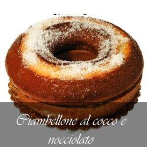 CIAMBELLONE -KG.2 - NOCCIOLATA - COCCO - DALBA