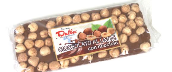 ART.648 TAVOLETTA CIOCCOLATO LATTE  CON  NOCCIOLE G 200