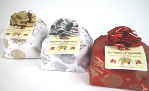 Art.425 Panettone Tradizionale Lievito naturale incarto a pacco -solo uvetta-