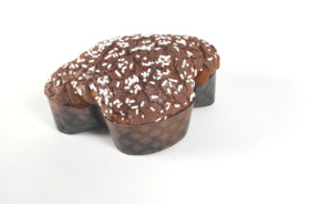 Colomba tradizionale artigianale chicchi di cioccolato -lievitazione naturale-