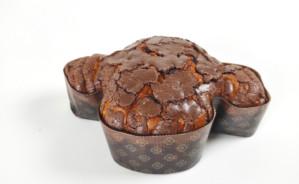 Colomba tradizionale artigianale pera candita e chicchi di cioccolato -lievitazione naturale-